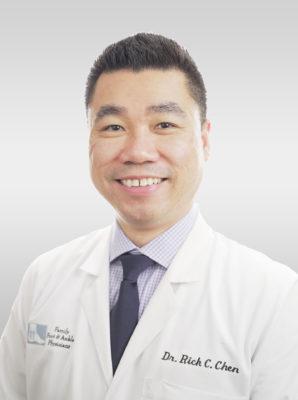 Rick C. Chen, DPM Greenville NC Podiatrist